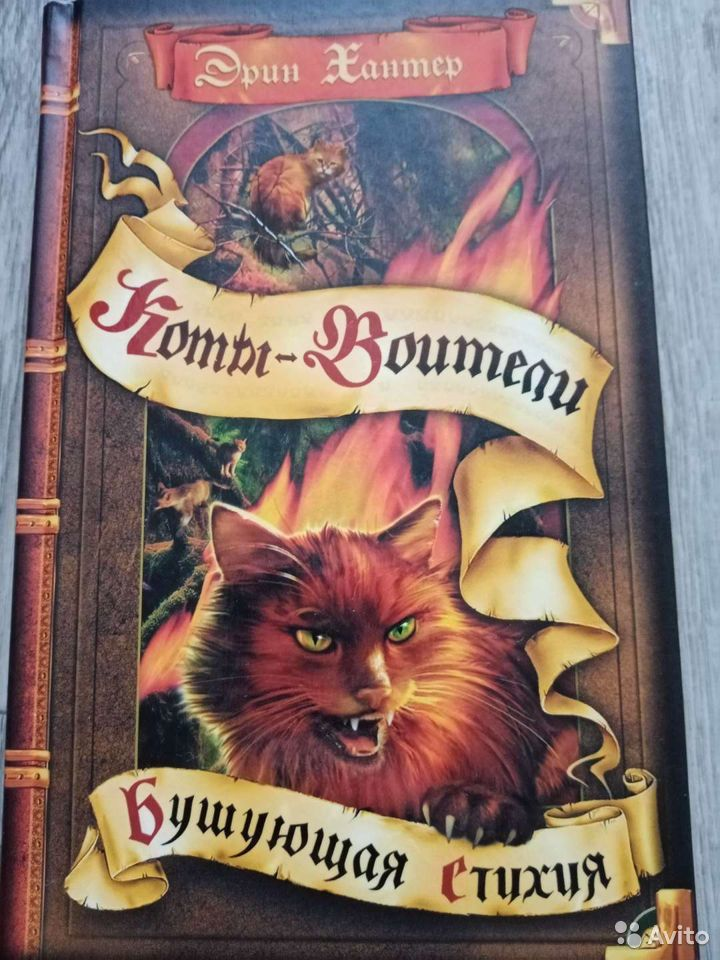 Книги коты воители  89532749015 купить 4