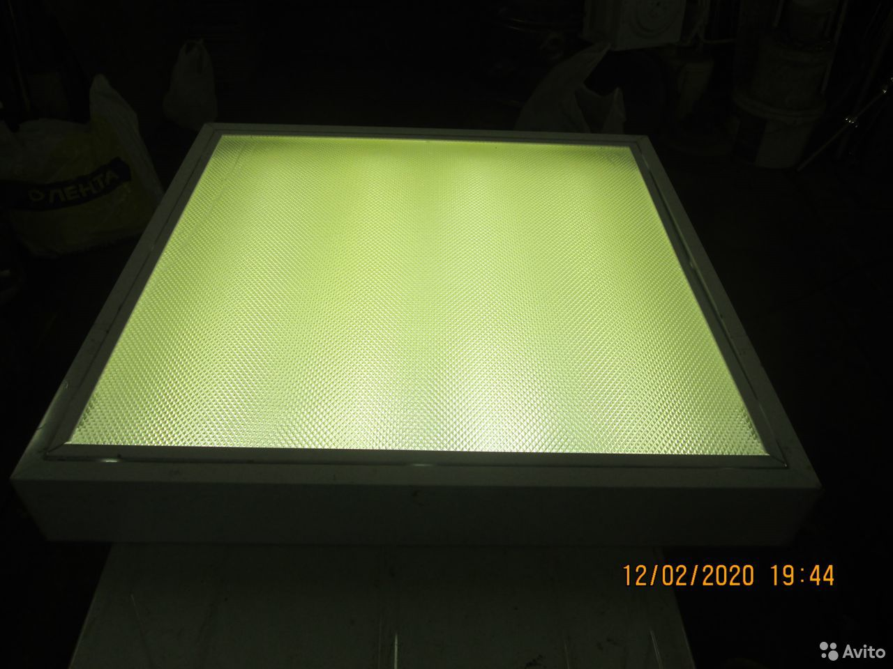 Люминесцентные светильники 3 штуки