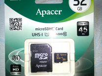Карта памяти Apacer 32 гб class 10